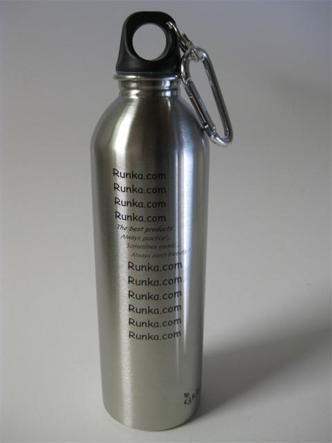 'RUNKA' Stainless Drinking Bottle 20oz