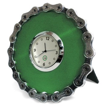 Bicycle Chain Desk Clock
