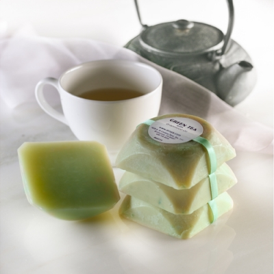 AAvya Soap 'Green Tea with Grapeseed Oil'
