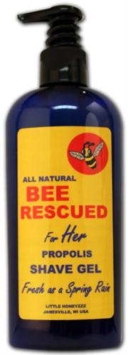 Bee Rescued Shave Gel for Her 8oz.