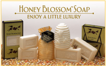 3.5 oz Honey Blossom Soap (Set of 3)