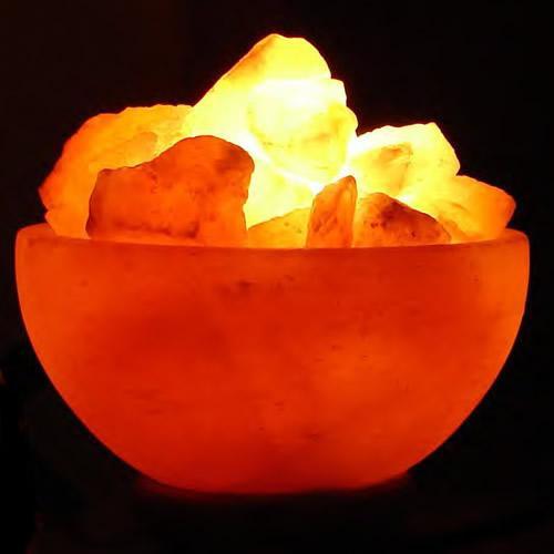 A Bowl of Fire Himalayan Salt Lamp