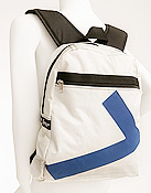 Ella Vickers White Dacron Backpack