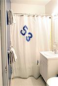 Ella Vickers Spinnaker Shower Curtain