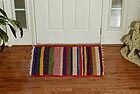 100% Recycled Silk Area Rug 4x6