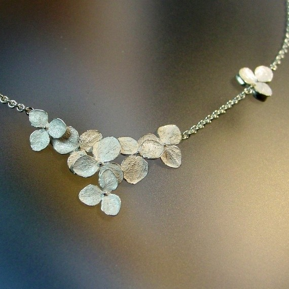 Hydrangea necklace by Patrick Irla