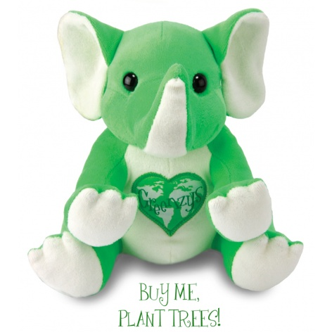 Greenzys Willow the Elephant stuffed toy