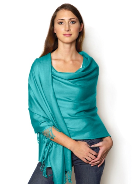 Nimli eco-friendly viscose pashmina shawl